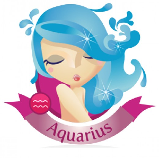 Aquarius Girl in Love